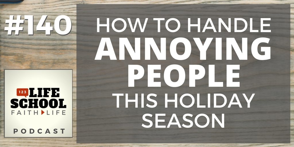 how to handle annoying people