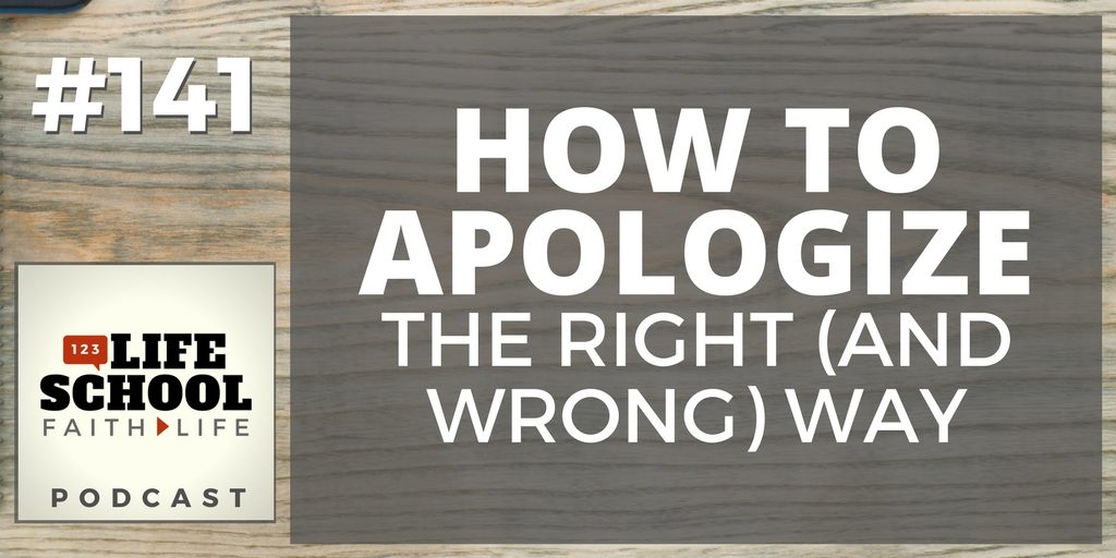 apologize the right way