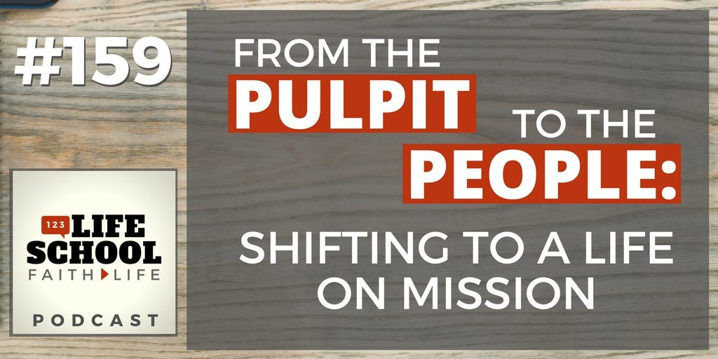 shifting to a life on mission