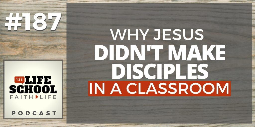 jesus make disciples in classroom