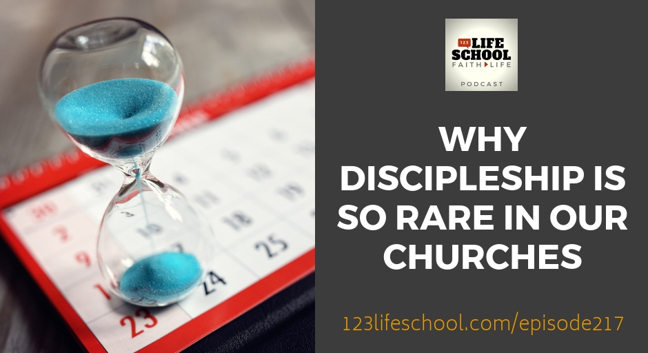 why discipleship is rare in churches
