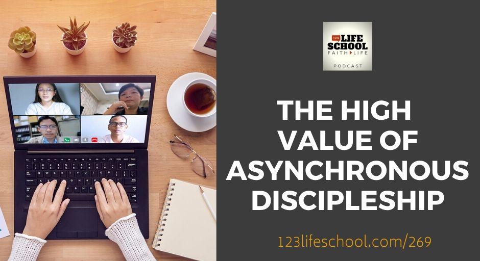high value asynchronous discipleship online