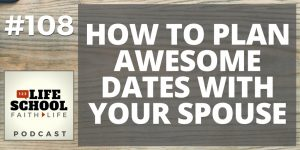 how to plan date night with your spouse