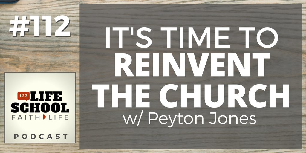 time to reinvent the church