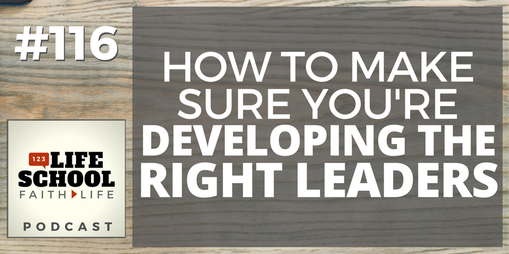 developing the right leaders