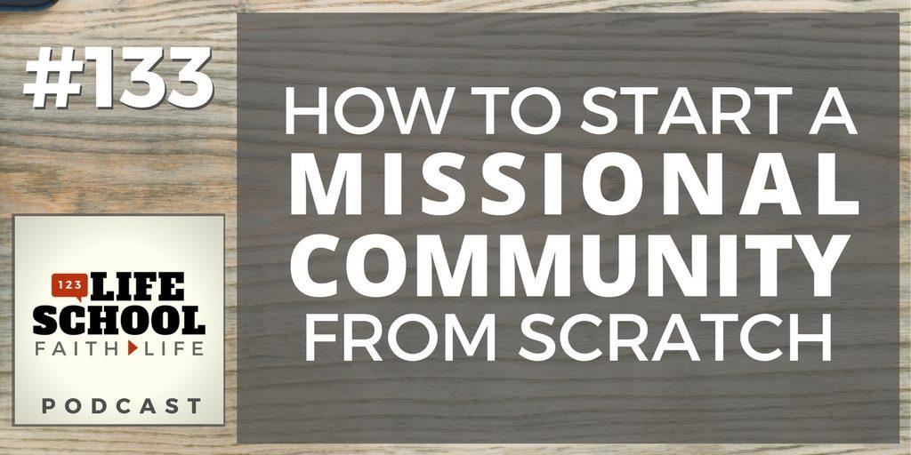 start a missional community