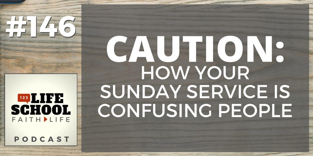 is sunday church service confusing