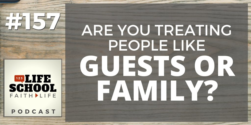 guests or family