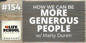 be more generous people
