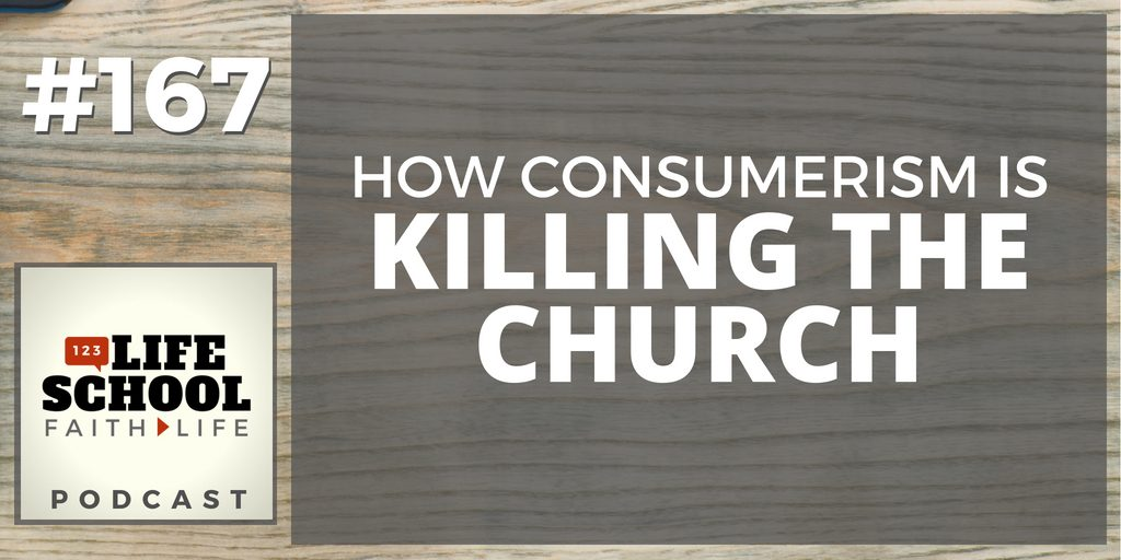 consumerism killing church ministry