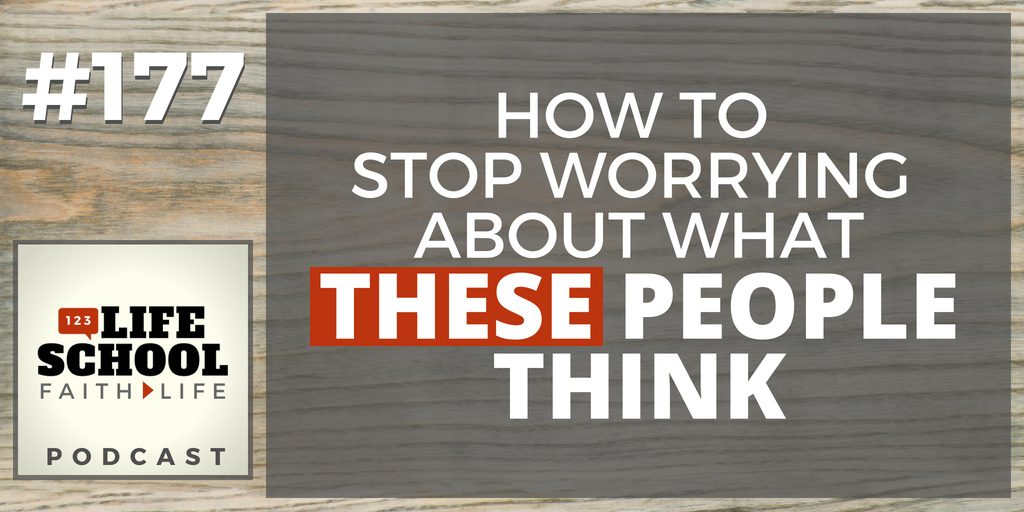 stop worrying what people think