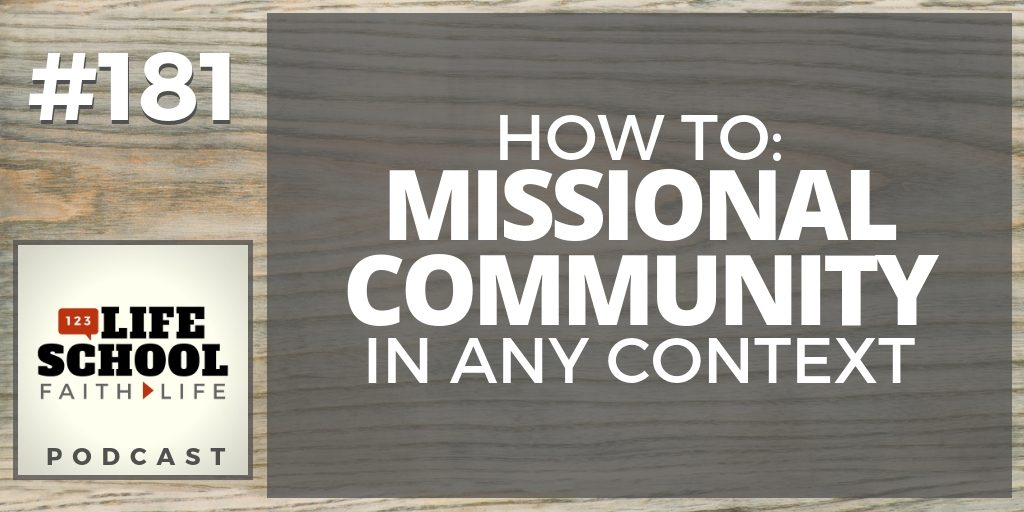 missional community in any context