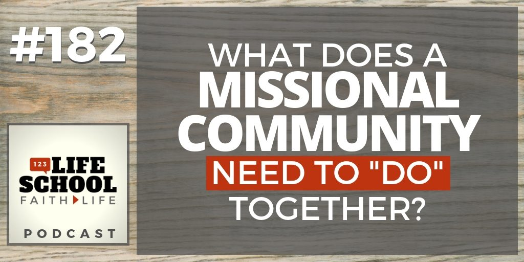 Missional Community Do Together