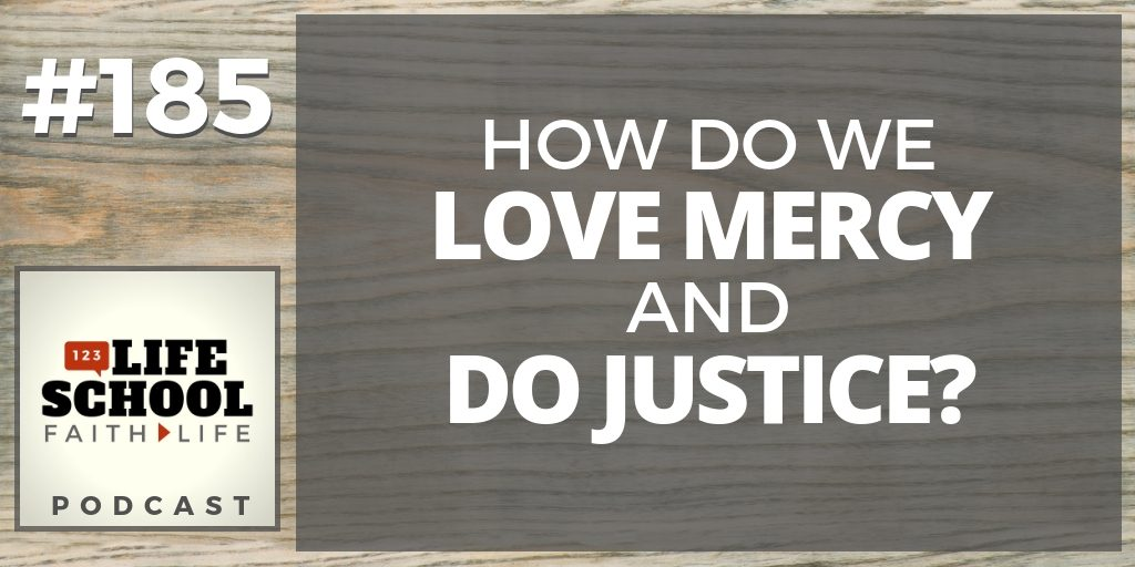 love mercy do justice