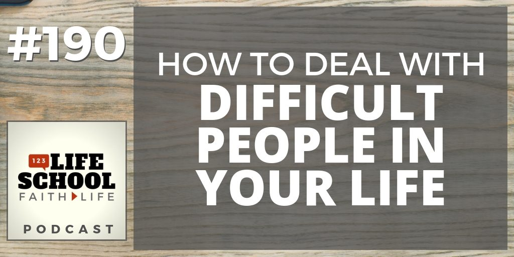 how deal with difficult people