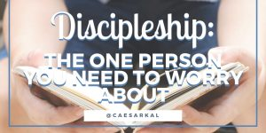 discipleship the one person