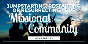 jumpstarting your missional community