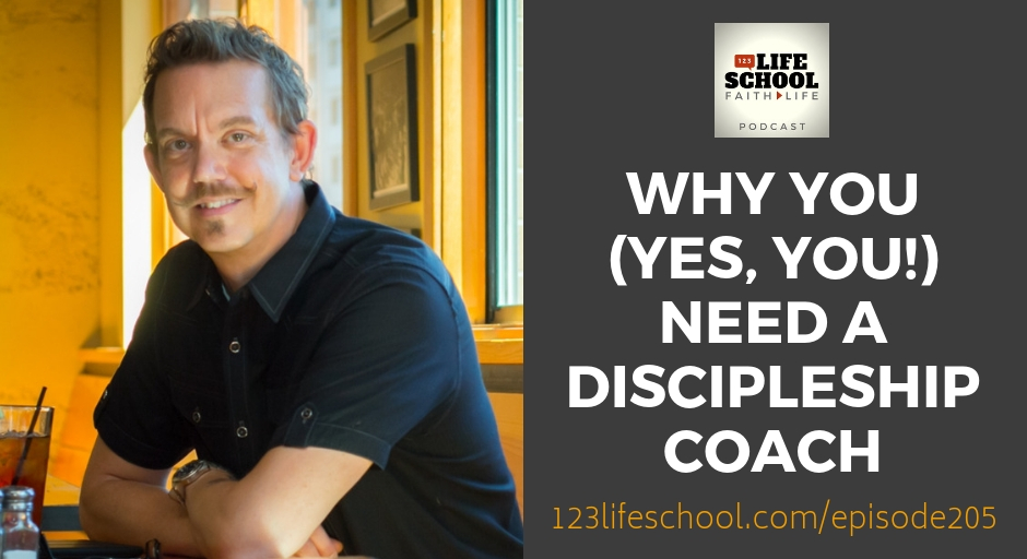 why you need a discipleship coach