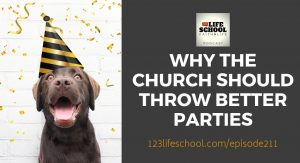 why church should throw better parties