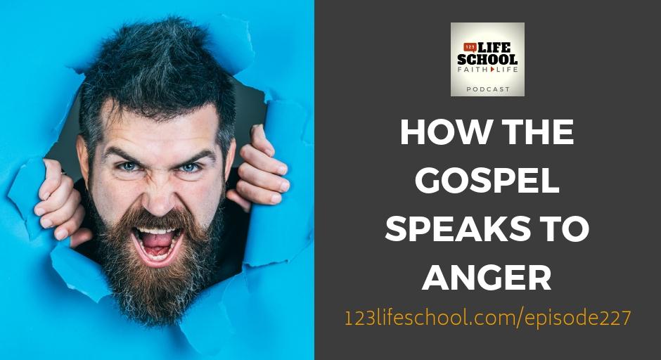 how gospel speaks anger