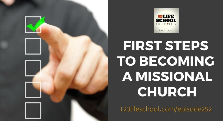 first steps becoming missional church