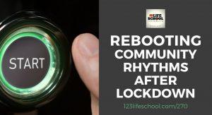 rebooting community rhythm