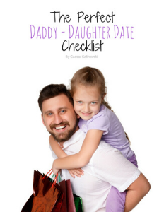Daddy Daughter Date Checklist