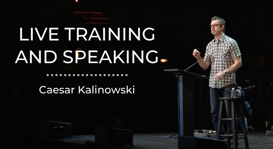 Live Training Caesar Kalinowski