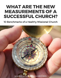 Measurements of a Successful Missional Church