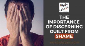 discerning guilt from shame