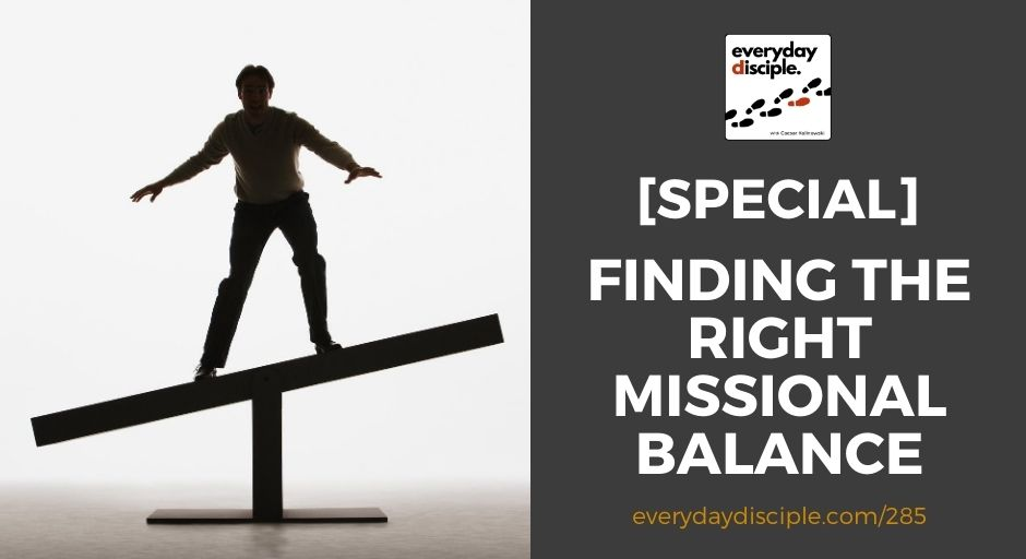 finding missional balance
