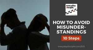 how to avoid misunderstandings