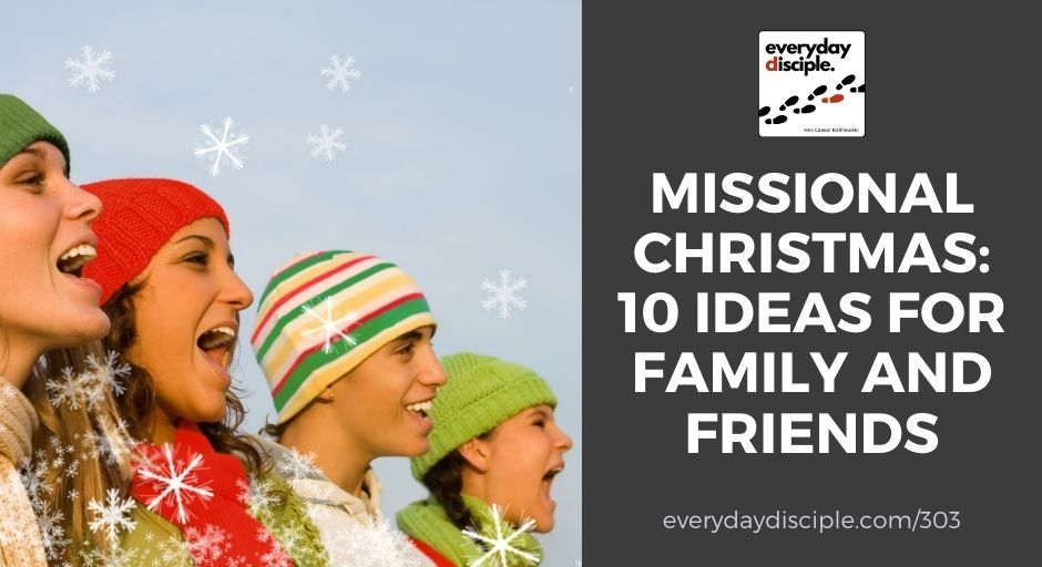 10 ideas for missional christmas